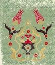 Free Grungy Ottoman Design Stock Photos - 9642973