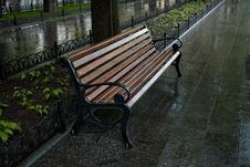 Free Park Bench Stock Image - 9640441
