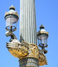 Free Lamppost, Paris Stock Photo - 9641700