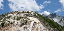 Free White Marble Quarry In Marina Di Carrara Royalty Free Stock Photos - 9641828