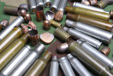 Free Bullets And Sleeves Royalty Free Stock Photography - 9642027