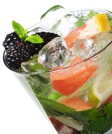 Free Cocktail - Mojito Stock Photography - 9642332