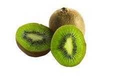 Free Some Kiwi On White Stock Images - 9642484