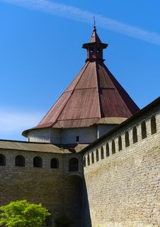 Free Tower Of Schlisselburg Fortress Stock Photography - 9642612