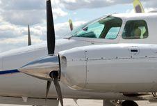 Airplane 2 Royalty Free Stock Image