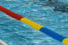 Swimming Pool Detail Royalty Free Stock Photo
