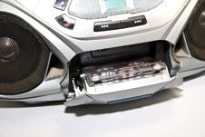 Free Radio Cassette Tape Player Stock Photos - 9645263