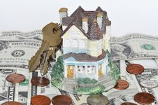 Free House With Keys Stock Image - 9645381