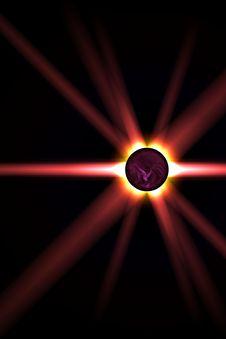 Free Solar Spot Royalty Free Stock Photo - 9645385