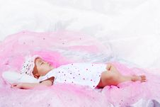 Free Cute Baby Portrait Royalty Free Stock Photo - 9646645