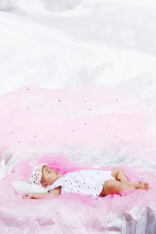 Free Cute Baby Portrait Royalty Free Stock Photography - 9646647