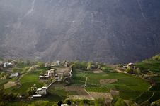 Free Village In Mountains Stock Photography - 9646822