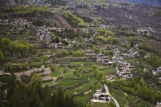 Free Village In Mountains Stock Photo - 9646930