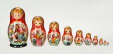 Free Russian Matryoshka Stock Photo - 9647330