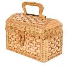 Free Wooden Box Royalty Free Stock Photo - 9647365