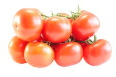 Free Tomatoes With A Branch Stock Photography - 9647882
