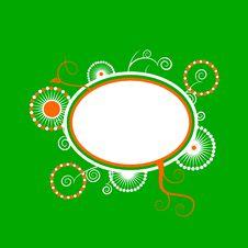 Free Green Orange Copyspace Background Royalty Free Stock Photo - 9648155