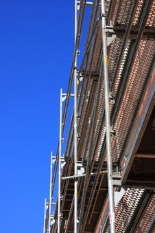 Free Scaffolding Royalty Free Stock Images - 9648279