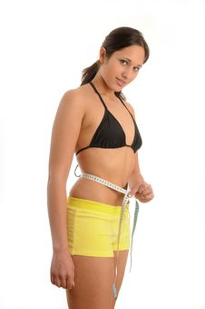 Free Waist Measering Stock Photos - 9648453