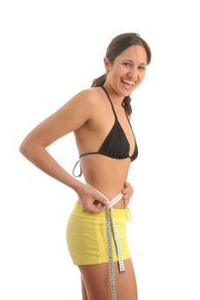 Free Waist Measering Stock Photography - 9648472