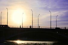 Free Cross Over The Bridge Stock Image - 9649391
