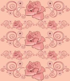 Free Floral Pattern Stock Photo - 9649580