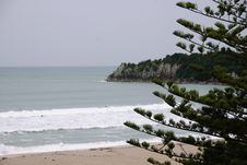 Free Mount Maunganui Main Beach Royalty Free Stock Photos - 9649668