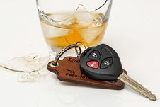Free Drink Driving Drunk Stock Photography - 96494642
