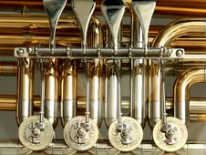 Free Silver Gold Musical Instrument Stock Photos - 96494713