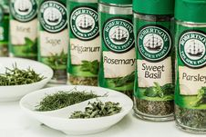 Free Herbs Flavoring Stock Photography - 96494882