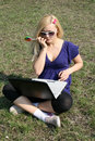 Free Busy Student Stock Image - 9651631