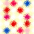 Free Painted Checkered Pattern Royalty Free Stock Photo - 9656115