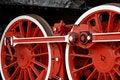 Free Wheels Of A Locomotive Royalty Free Stock Photos - 9656608
