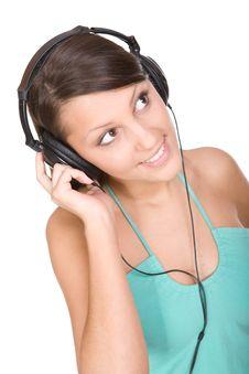 Free Enjoying Music Royalty Free Stock Image - 9650216