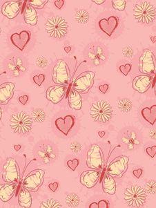Free Pink Pattern Royalty Free Stock Photo - 9650495