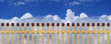 Free Fence From Matches Stock Photo - 9651410