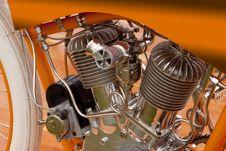 Free Merkel Motorcycle Stock Photography - 9651442