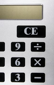 Free Calculator Stock Photography - 9651742