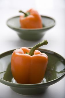 Free Orange Peppers Stock Images - 9651954