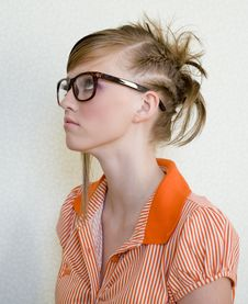 Free Girl In Glasses Stock Photo - 9653680