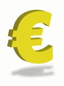 Free Euro Symbol Royalty Free Stock Images - 9653729