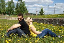 Free Couple Royalty Free Stock Image - 9654426