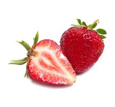 Free Strawberry Slice Stock Photo - 9654580