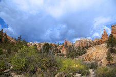 Free Bryce Canyon National Park Royalty Free Stock Photo - 9655115