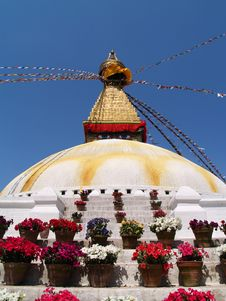 Free Nepalese Stupa Stock Images - 9655284