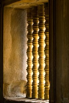 Free Window In A Temple Stock Images - 9655664