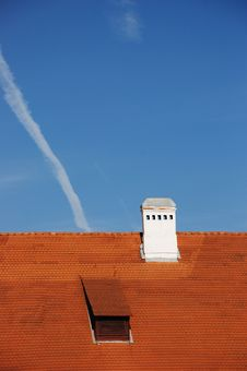 Free Tiled Roof Detail Royalty Free Stock Images - 9656519