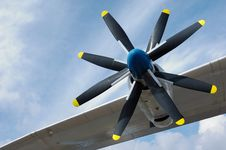 Antonov An-22 Stock Photography