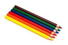 Free Pencils Royalty Free Stock Photography - 9658337