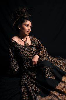 Free Beautiful Woman With Dreadlocks Royalty Free Stock Photography - 9658987